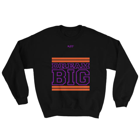 Black Orange and Purple Sweatshirt