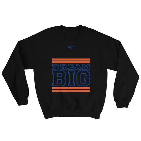 Black Orange and Royal Blue Sweatshirt