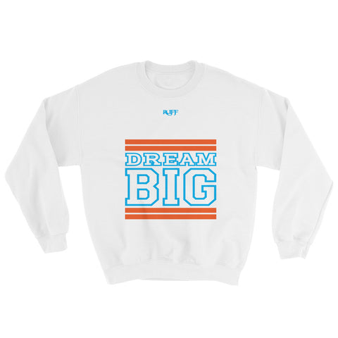White Orange and Carolina Blue Sweatshirt