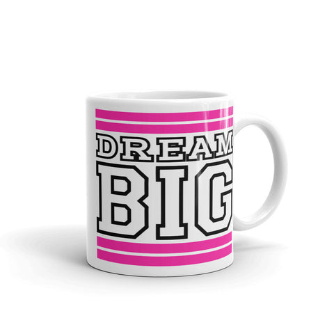 White Pink and Black Mug (11 oz.)