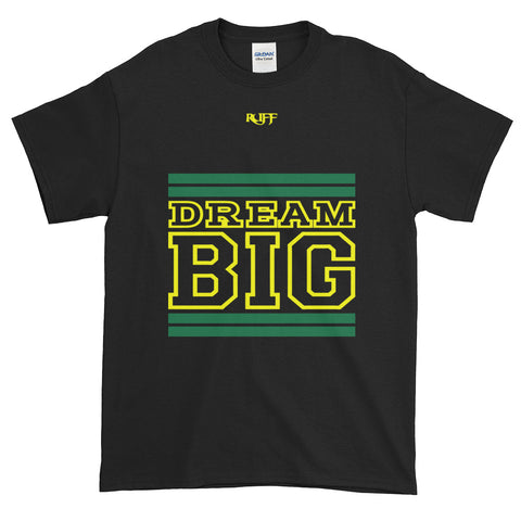 Black Green and Yellow Short-Sleeve T-Shirt