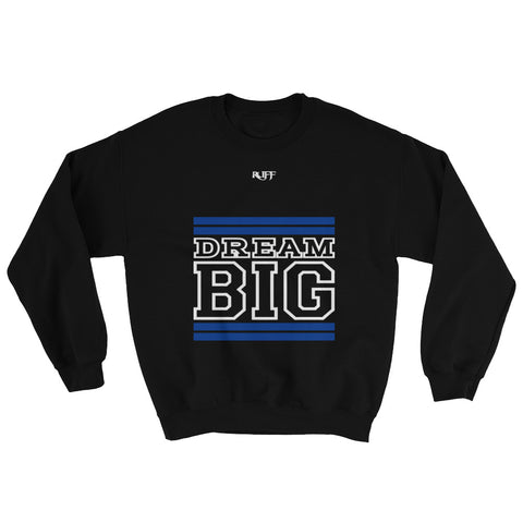 Black Royal Blue and White Sweatshirt