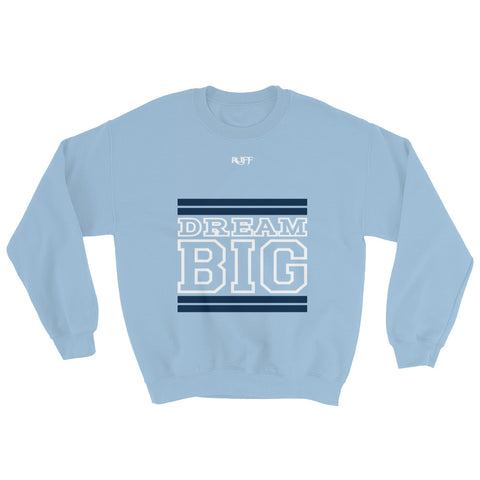Carolina Blue Navy Blue and White Sweatshirt