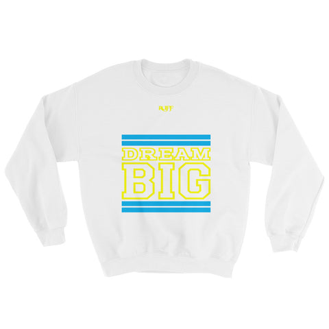 White Carolina Blue and Yellow Sweatshirt