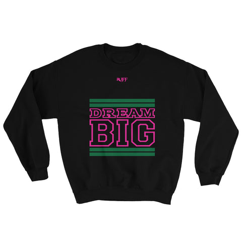 Black Green and Pink Sweatshirt