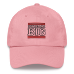 Red and Black Dream Big Lifestyle Dad hat