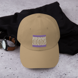 Purple and White Dream Big Lifestyle Dad Hat (assorted colors)
