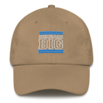 Light Blue and White Dream Big Lifestyle Dad Hat (assorted colors)