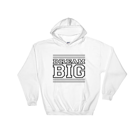 White Grey and Black Hooded Sweatshirt