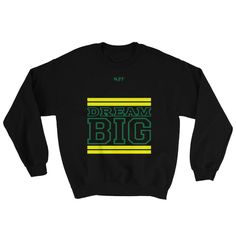 Black Yellow and Green Sweatshirt