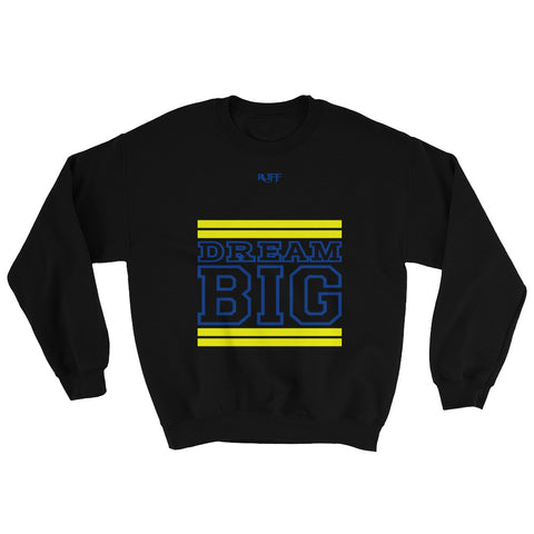Black Yellow and Royal Blue Sweatshirt