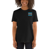 Carolina Blue and White Dream Big Lifestyle Short-Sleeve Unisex T-Shirt