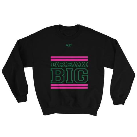 Black Pink and Green Sweatshirt