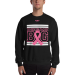 Black white and Pink Breast Cancer Awareness Unisex Sweatshirt
