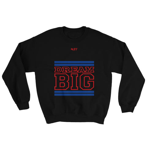 Black Royal Blue and Red Sweatshirt