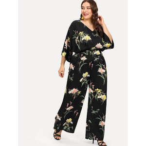 Botanical Wide Leg Jumpsuit