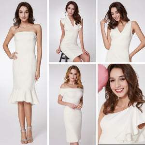 Elegant Knitted Cocktail Dresses