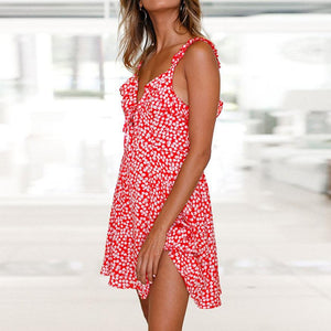 Ruffled Feathers Summer Dress