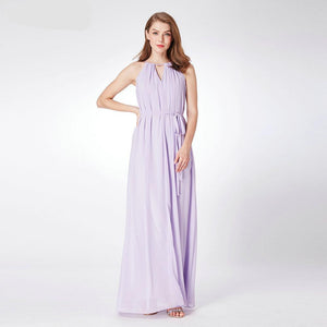 Lavender Chiffon Bridesmaid Dresses