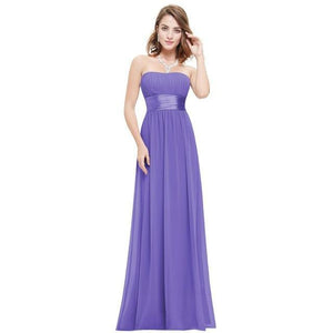 Gorgeous Sexy Strapless Bridesmaids Dresses