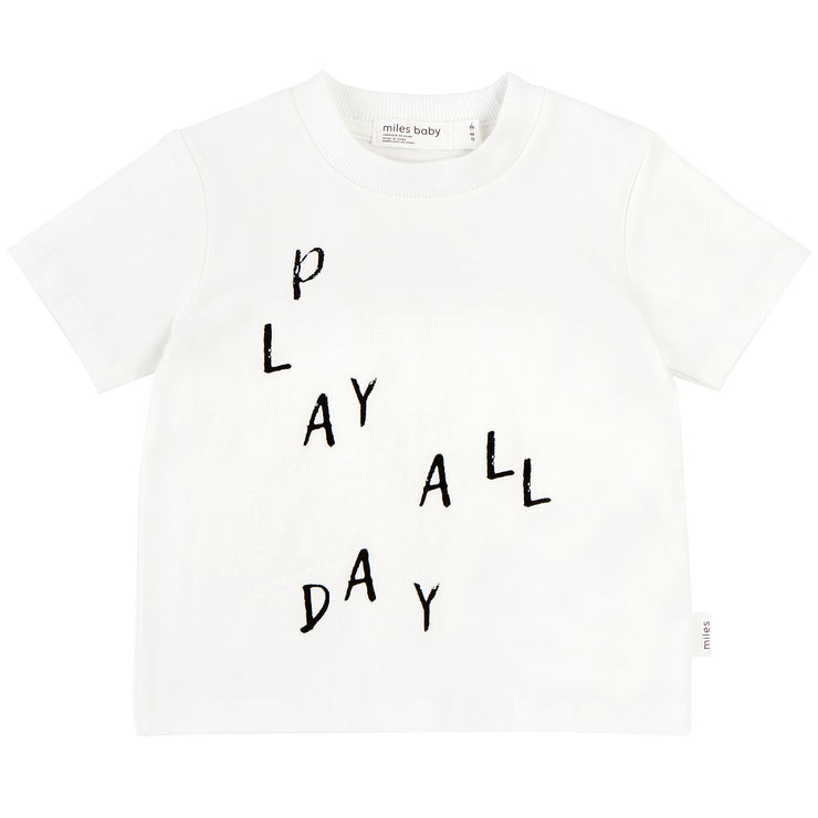 Play All Day T-Shirt - Off White