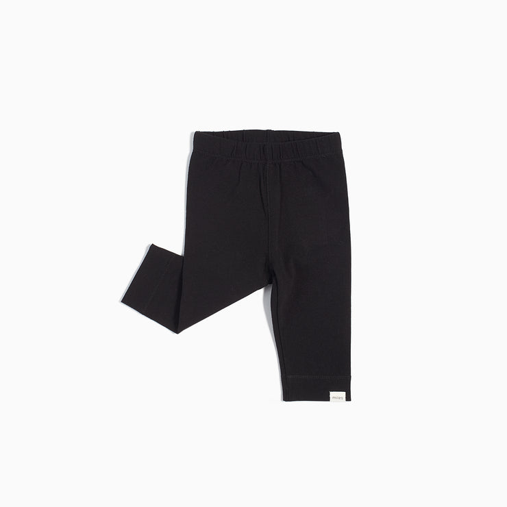 Basic Legging with Cuff- Black