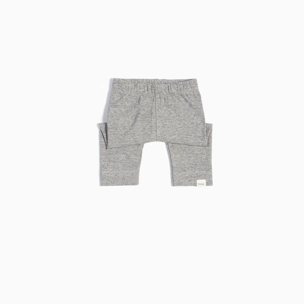 Basic Legging with Cuff - Heather Grey