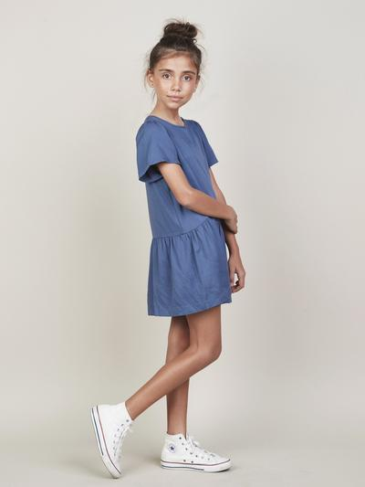 Mia Dress - Indigo