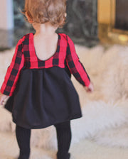 Holiday Dress - Buffalo Plaid