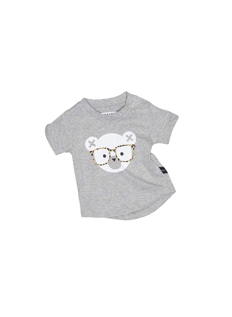 Nerd Bear - Heather Grey