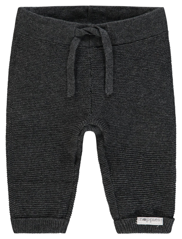 Knit Trouser - Dark Grey