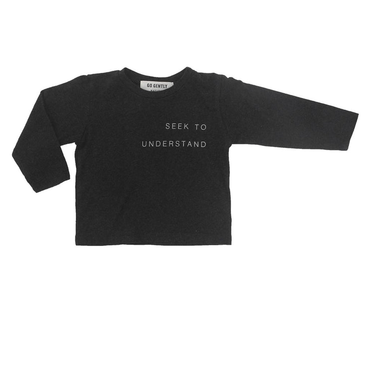 Seek To Understand Tee- Coal