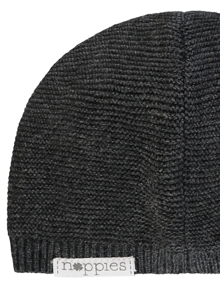 Knit Hat - Dark Grey