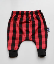 Holiday Harem Pants - Buffalo Plaid