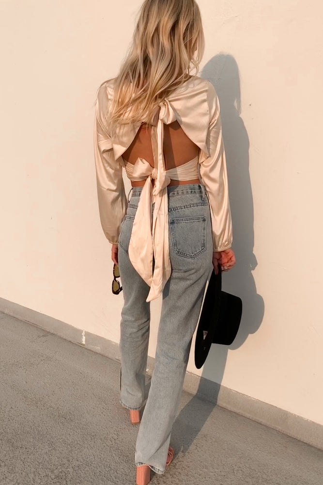 All The Way Slit Jeans