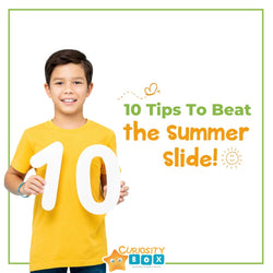 10 Tips to Beat the Summer Slide | Curiosity Box Kids