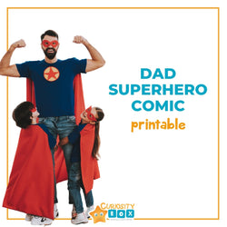 Create Your Own Dad Superhero Comic | Curiosity Box Kids