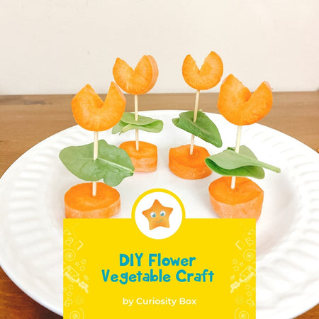 DIY Flower Vegetables | Curiosity Box Kids