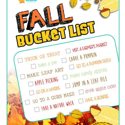 Free Fall Printable! | Curiosity Box Kids