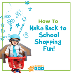 How to Make Back to School Shopping Fun! | Curiosity Box Kids