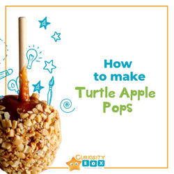 Thanksgiving In Canada- Turtle Apple Pops | Curiosity Box Kids