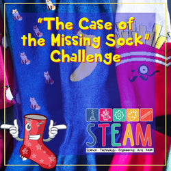 The Case of the Missing Sock Challenge | Curiosity Box Kids