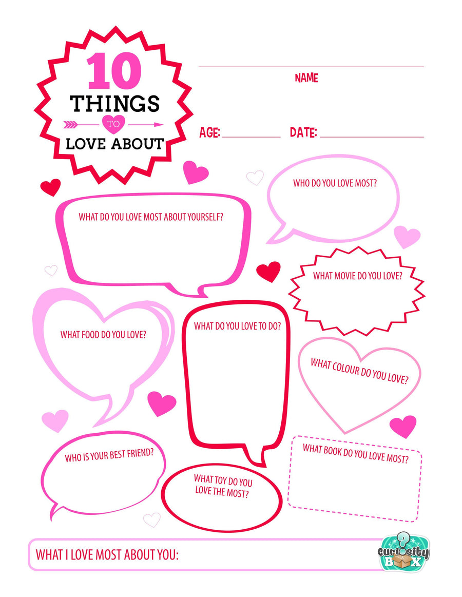It's just a graphic of Printable Things pertaining to favorite