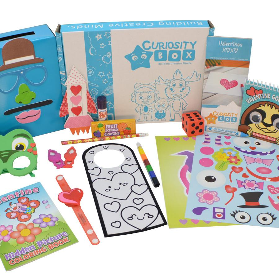 A Blast of Love Craft Box for Ages 5-7- Curiosity-Box-Craft-and-Educational-Boxes-Kids-Monthly-Subscription-Box