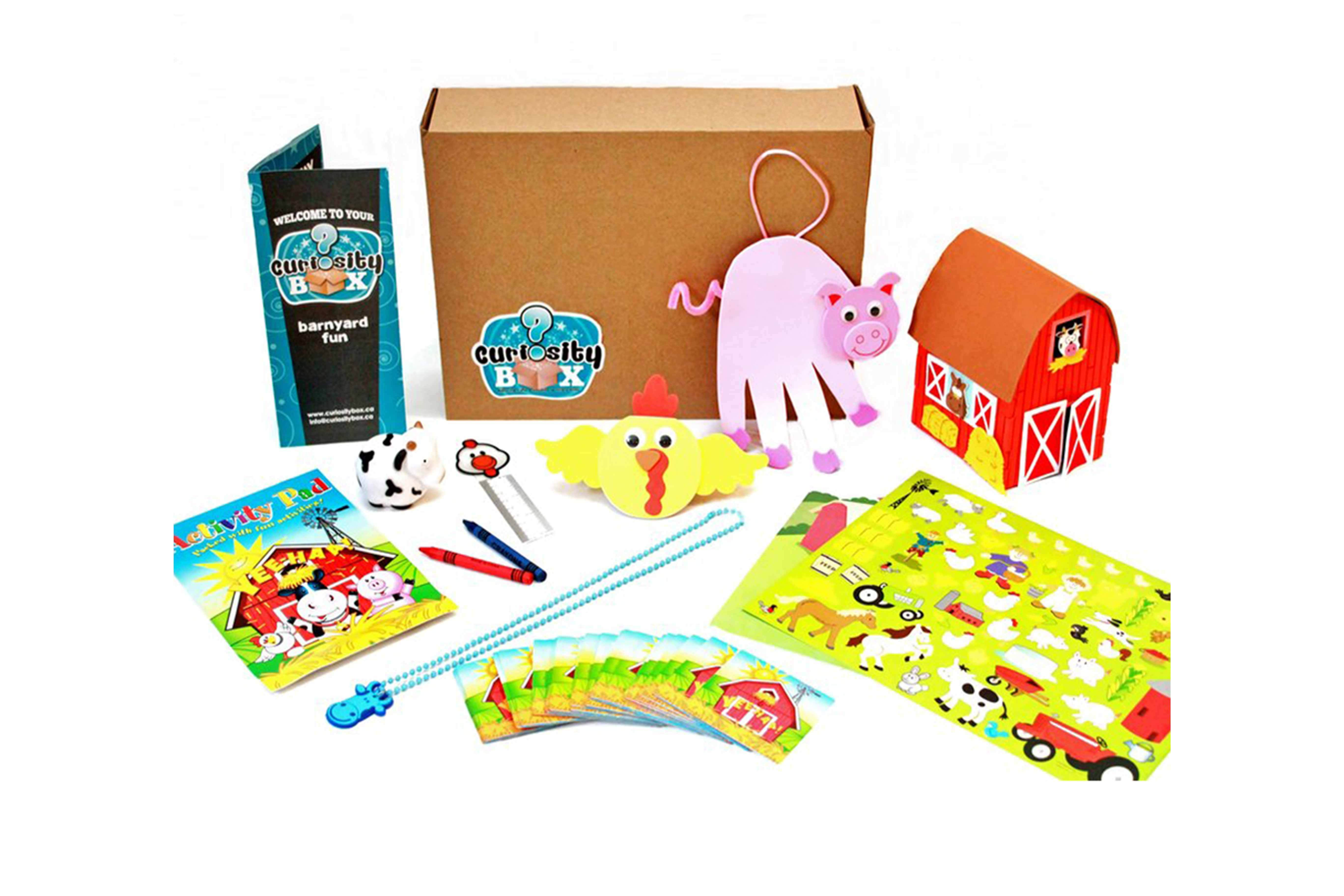 Barnyard Craft Box for Ages 5-7- Curiosity-Box-Craft-and-Educational-Boxes-Kids-Monthly-Subscription-Box
