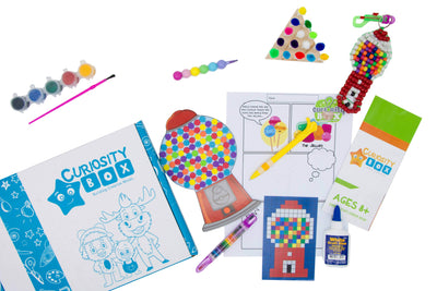 Bubble Trouble Craft Box for Ages 8+- Curiosity-Box-Craft-and-Educational-Boxes-Kids-Monthly-Subscription-Box