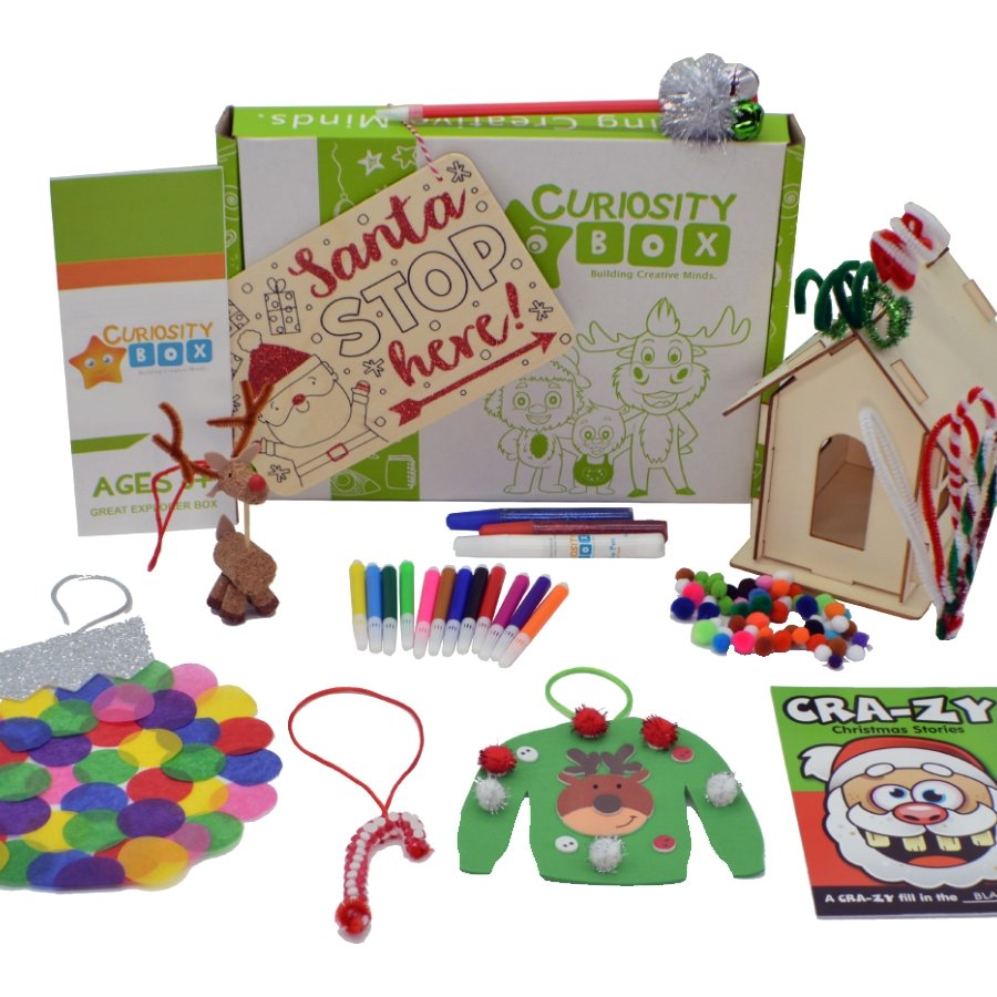 Celebrate the Holidays Craft Box for Ages 8+- Curiosity-Box-Craft-and-Educational-Boxes-Kids-Monthly-Subscription-Box