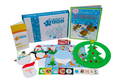 Christmas Countdown Box Ages 2-4- Curiosity-Box-Craft-and-Educational-Boxes-Kids-Monthly-Subscription-Box