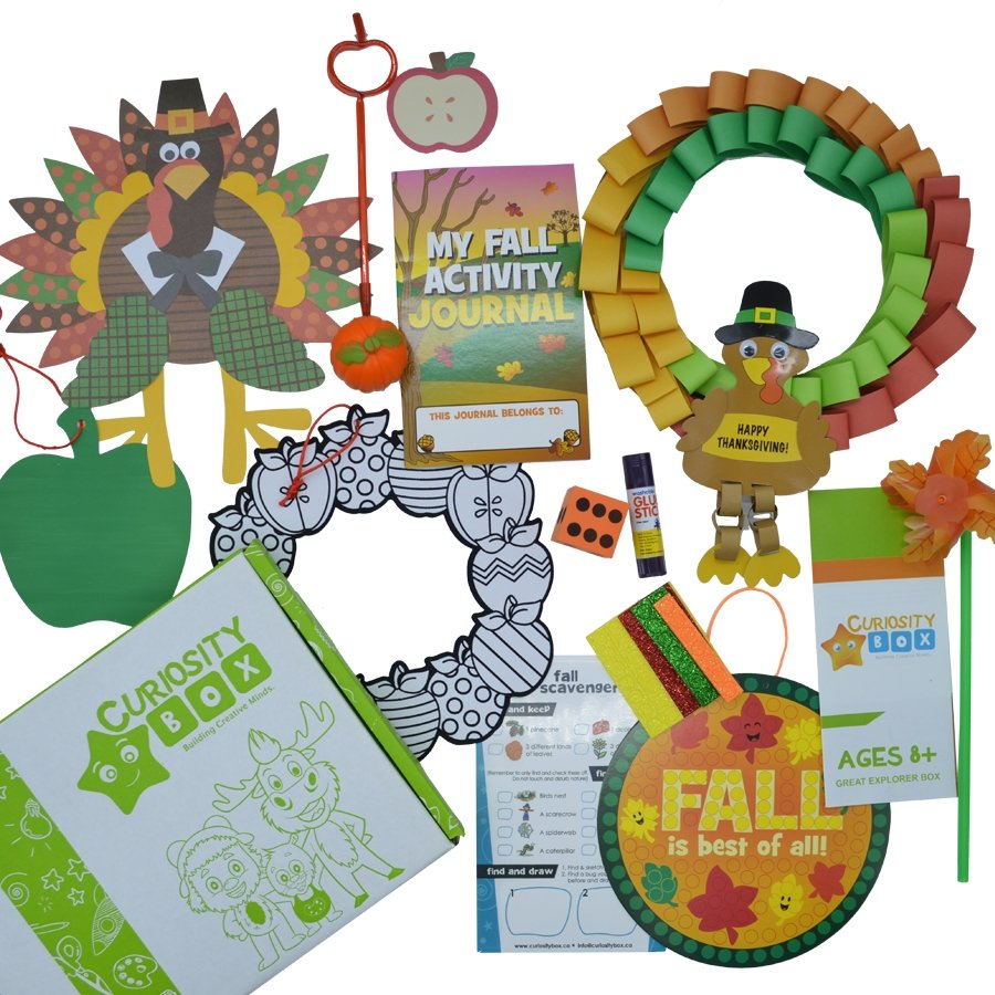 Fall is the Best Craft Box for Ages 8+- Curiosity-Box-Craft-and-Educational-Boxes-Kids-Monthly-Subscription-Box