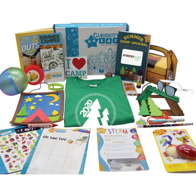 FCC Camper Craft & Merch Box for Ages 5-12- Curiosity-Box-Craft-and-Educational-Boxes-Kids-Monthly-Subscription-Box
